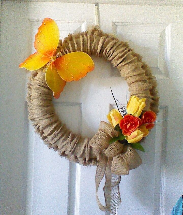 s 10 creative ways to transform pool noodles into something new, Hot Glue Together For A Seasonal Wreath