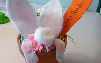 bunny pot