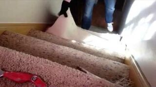 q how do i take carpet off of stairs is it a job i can do myself or is