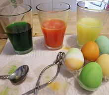 dye your easter eggs then spring clean the house