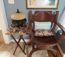 old chair new home