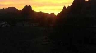 , Sunset over Blk Mtn range