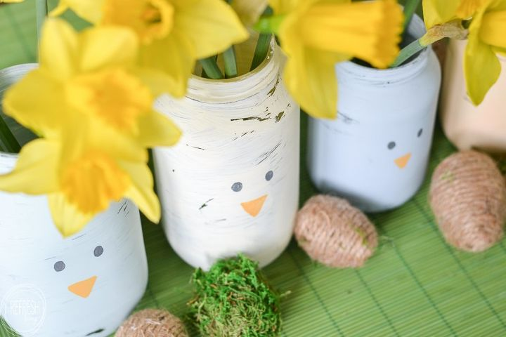 s 25 small decor ideas that will add some spring to your home, Makeovered Jars