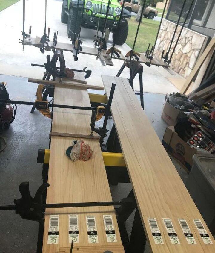 Gluing up in sections