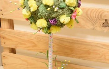 Easter Chick Topiary