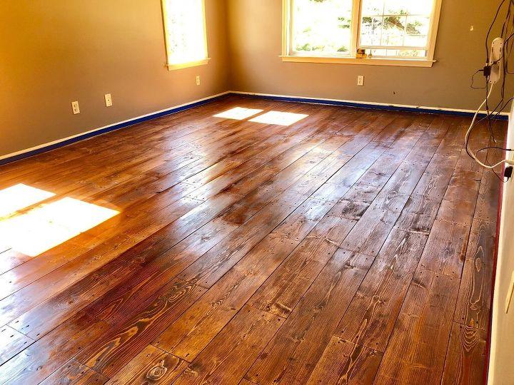 master bedroom floor