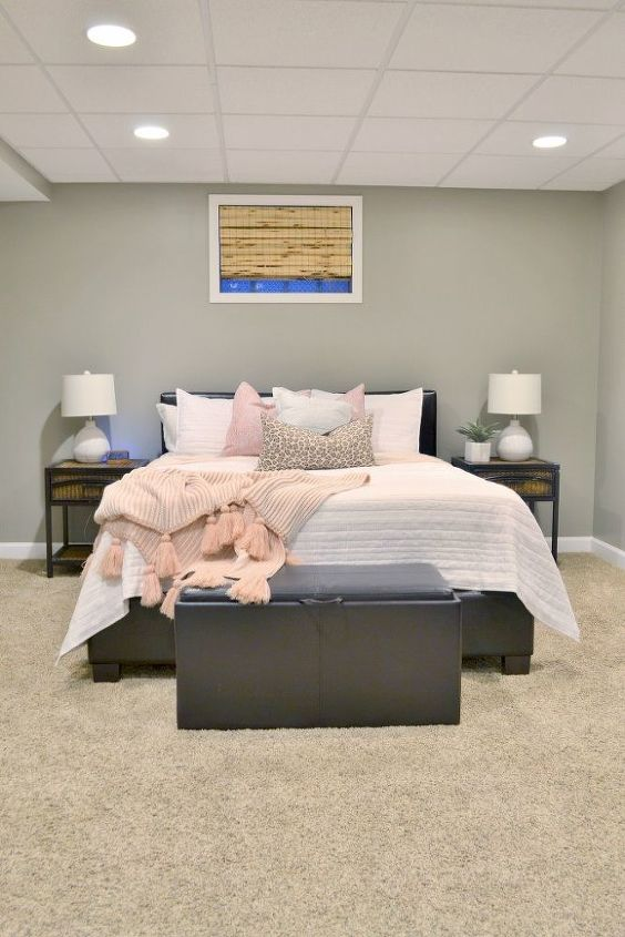 our basement spare bedroom makeover