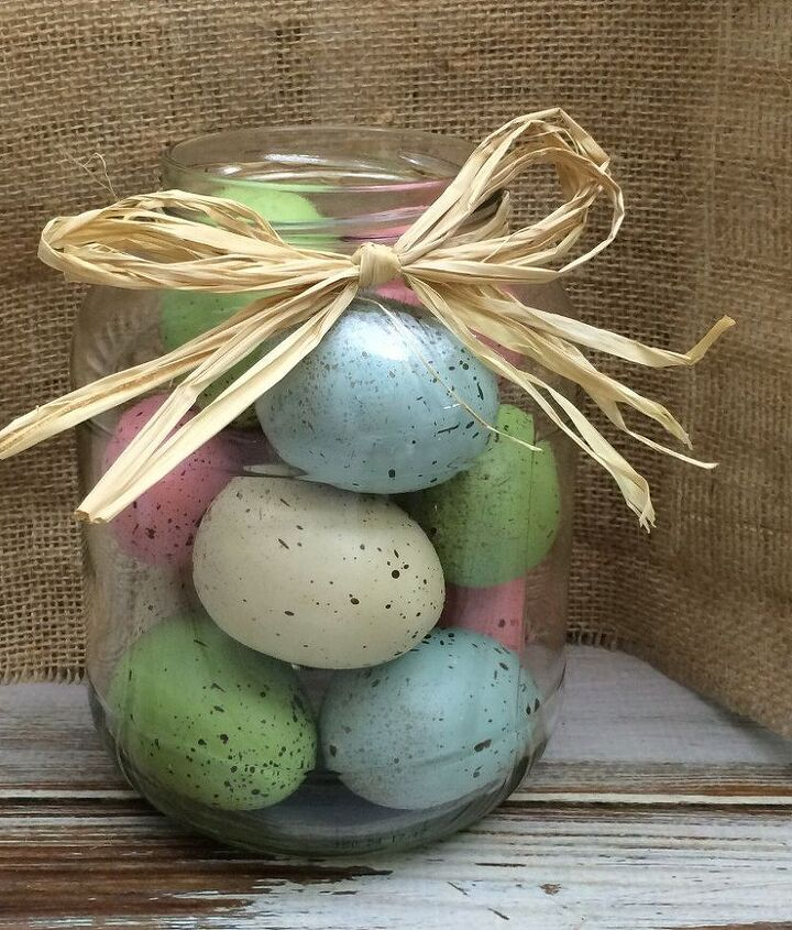 how to make an easter egg jar
