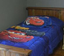 diy scrapwood farmhouse bed
