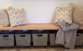 easy diy waterfall bench