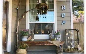 a hoppin easter porch