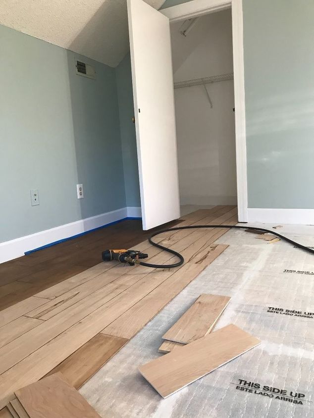 How To Give Floors From Plywood To Hardwood Look Diy