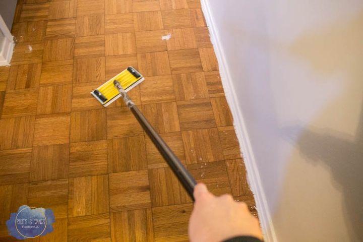 Painting Hardwood Floors To Look Like Moroccan Tile Hometalk