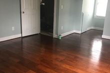 floors from plywood to hardwood look
