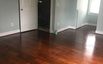 "Floors From Plywood to ""hardwood Look"""