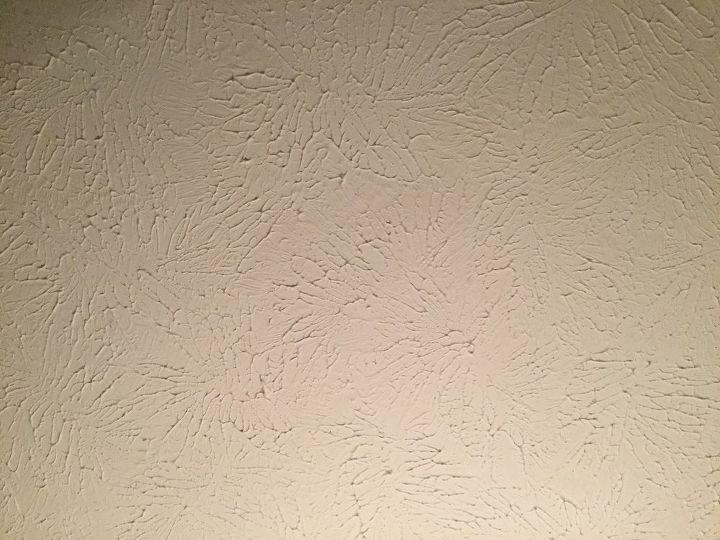 q sponged on plaster on ceilings