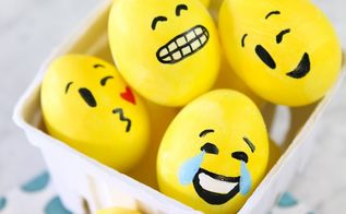 how to make emoji easter eggs