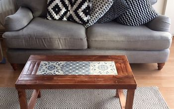 Parisian Chic Tiles Coffee Table in UNDER £40!