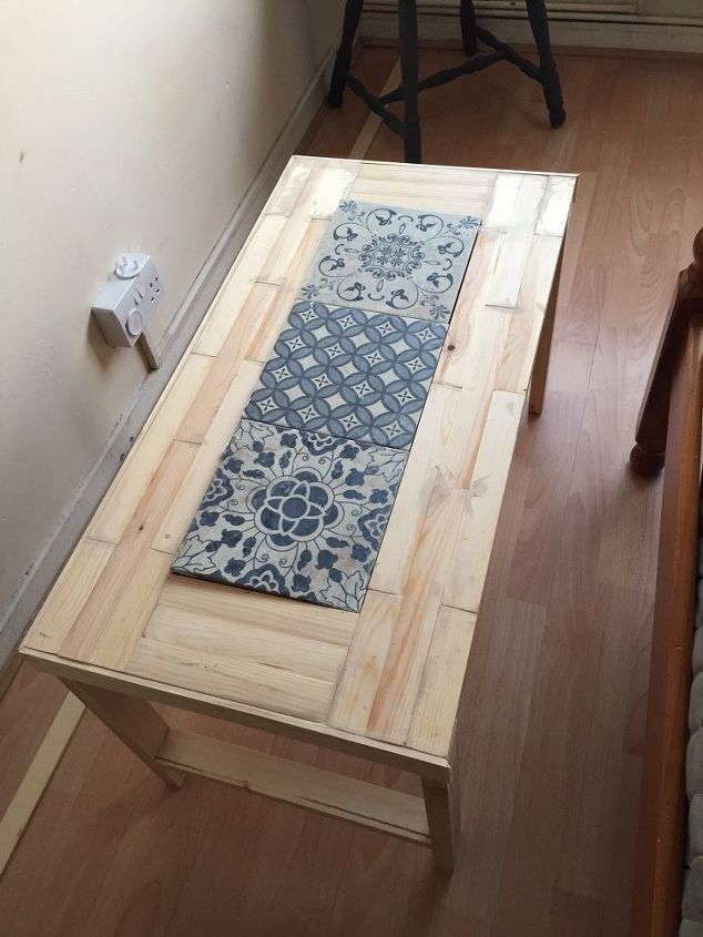 parisian chic tiles coffee table in under 40