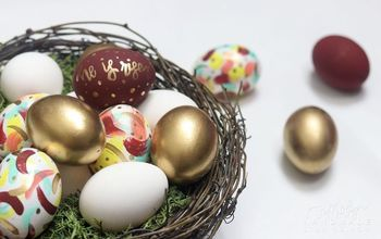 3 EASY DIY Easter Egg Designs