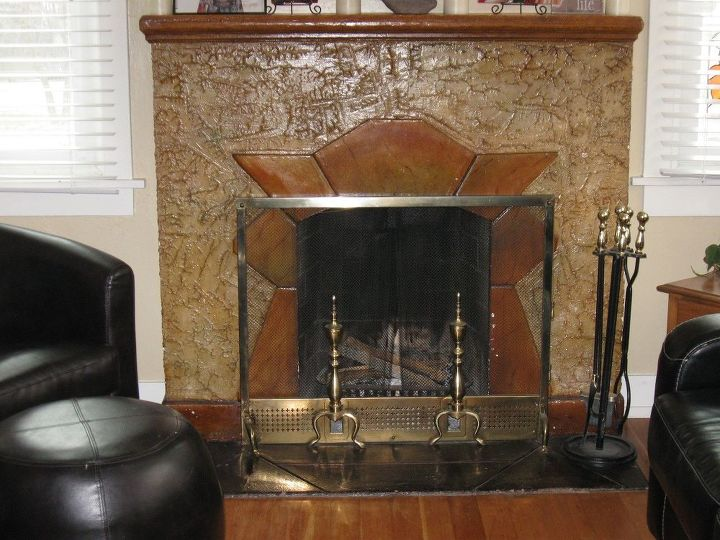 q ideas on how to update my fireplace