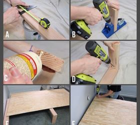 Make your own bed frame with extra storage for just $60 | Hometalk