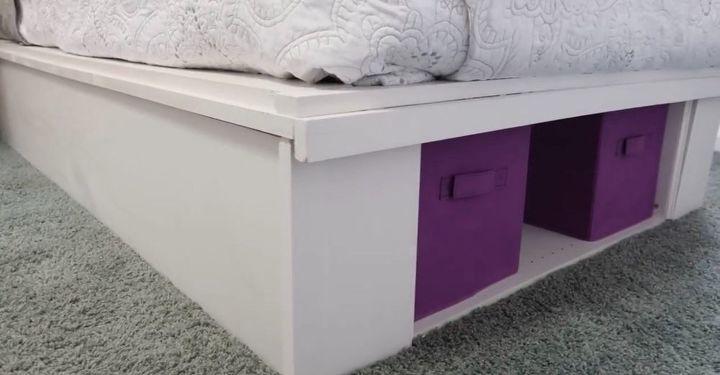 building a platform bed