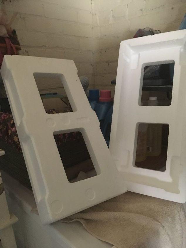 q styrofoam packing blocks
