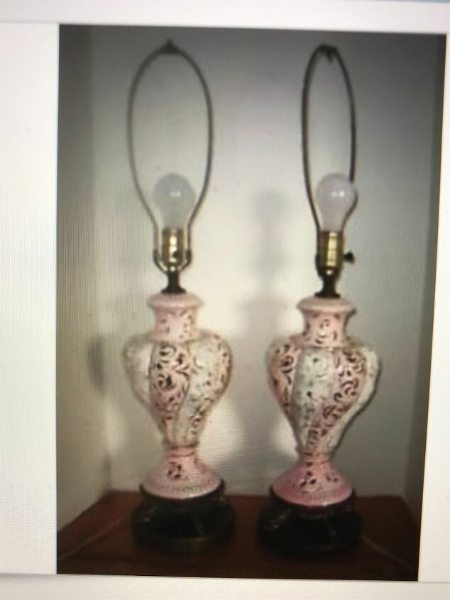 q which lamps would work in a shabby chic bedroom