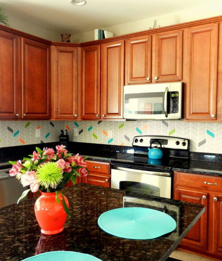 s the 12 most popular backsplash makeovers people are doing now, Paint Cost 30 50 8 hrs