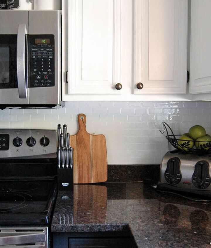 s the 12 most popular backsplash makeovers people are doing now, Vinyl Tile Cost 150 Time spent 6 hrs