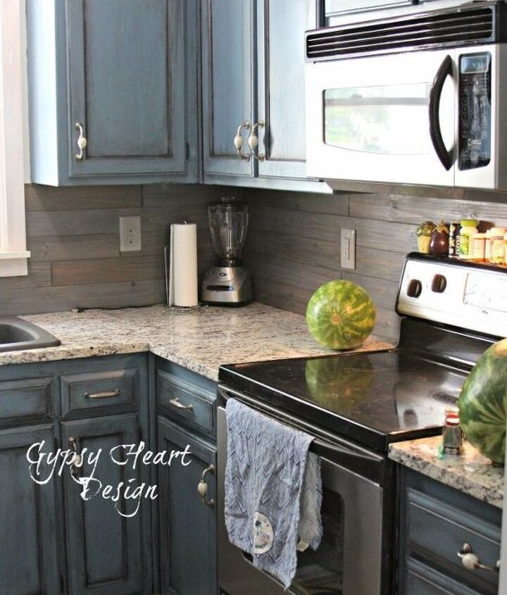 s the 12 most popular backsplash makeovers people are doing now, Wood Cost 70 100 Time spent 8 hrs