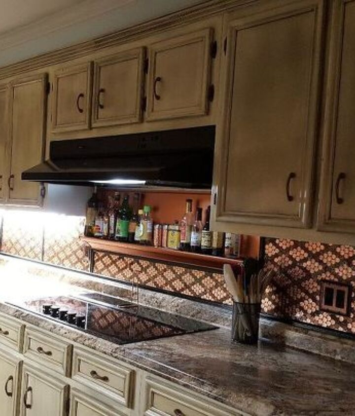 s the 12 most popular backsplash makeovers people are doing now, Pennies Cost 300 Time spent 2 days