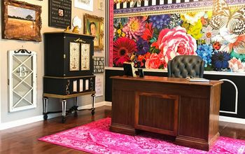 Add a Stunning Floral Wallpaper Mural to Your Happy Place!