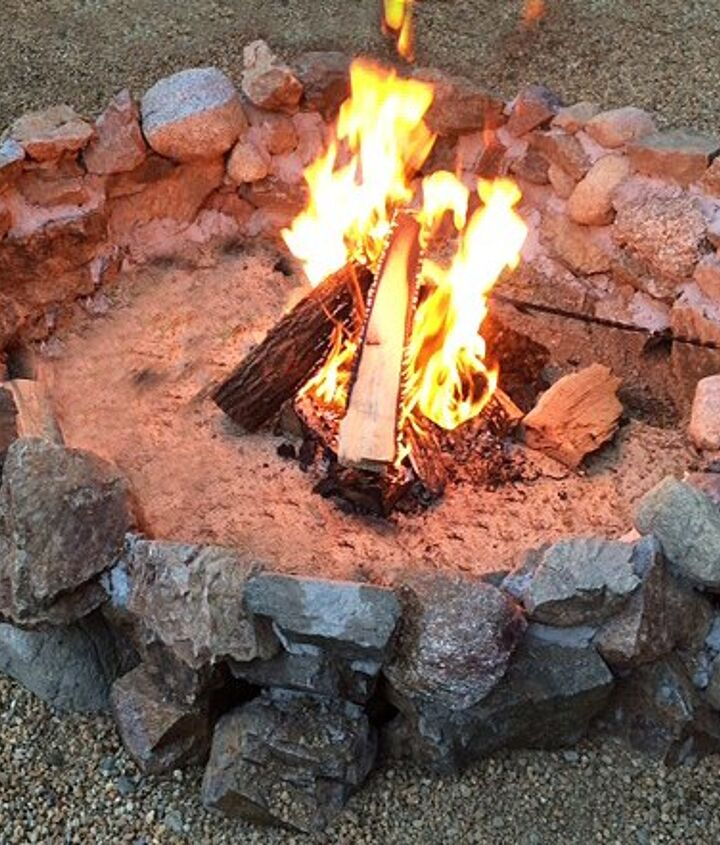s 15 fabulous fire pits for your backyard, Rustic and camp like