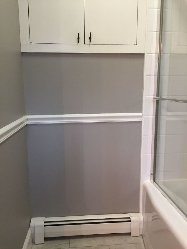 Tilt Out Hamper In My Small Bathroom