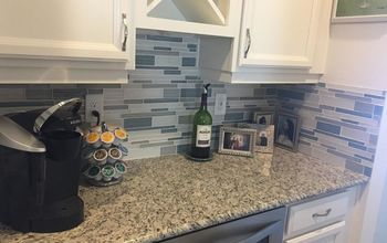 Glass Kitchen Back Splash