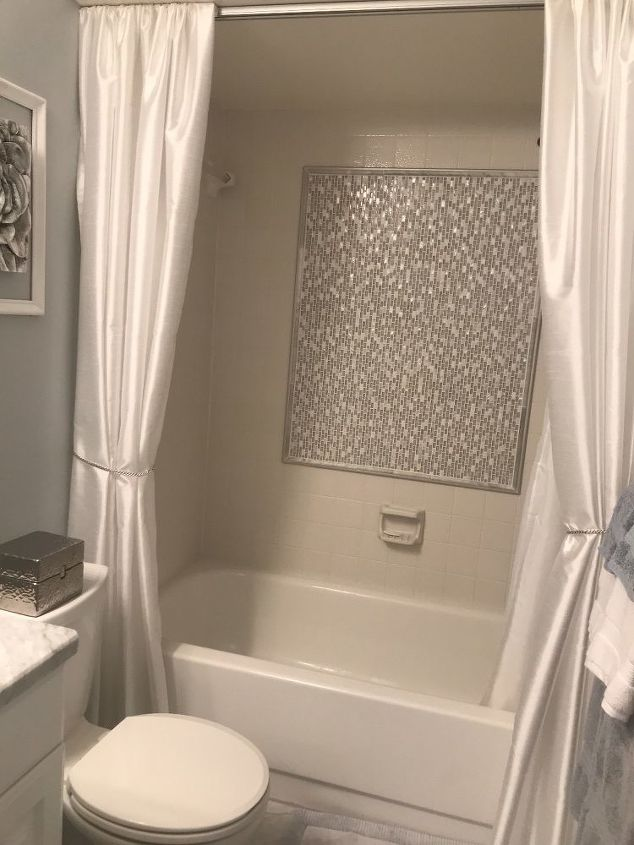 "New Life to Old Bathtub Surround. ""Tile Over Tile"" Yes You Can ..."