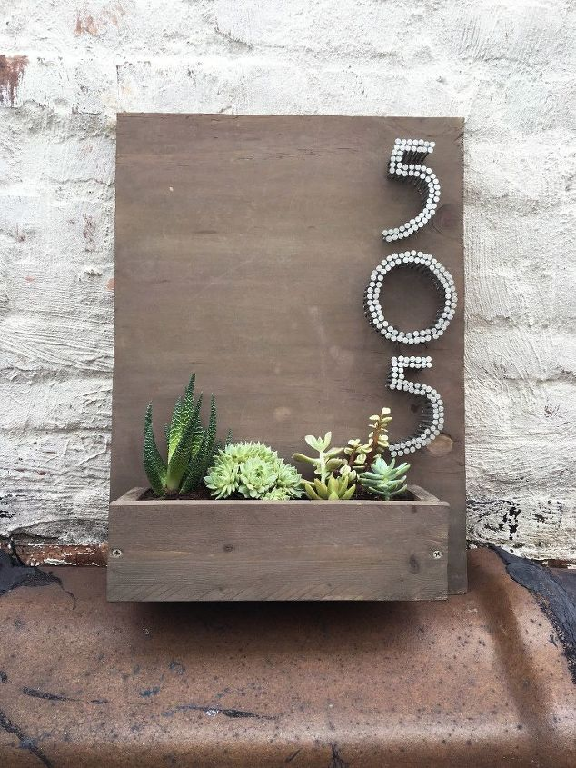 s check out these adorable container garden ideas to copy this spring, Planter House Number