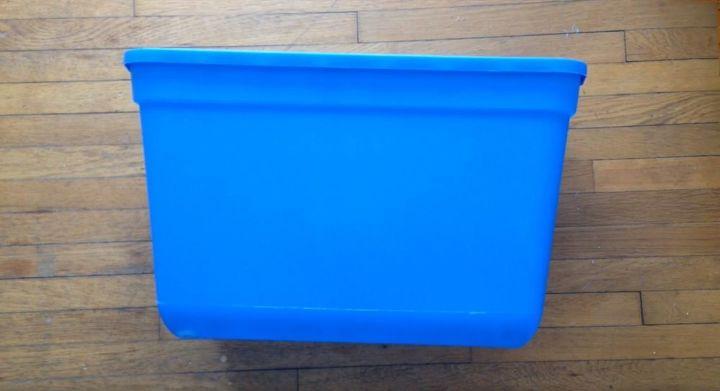 storage bin to toy box