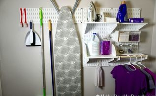 unique laundry room organization