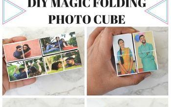 DIY Magic Folding Photo Cube