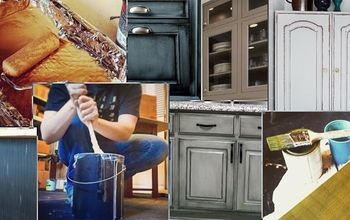DIY Cabinet Painting Homework
