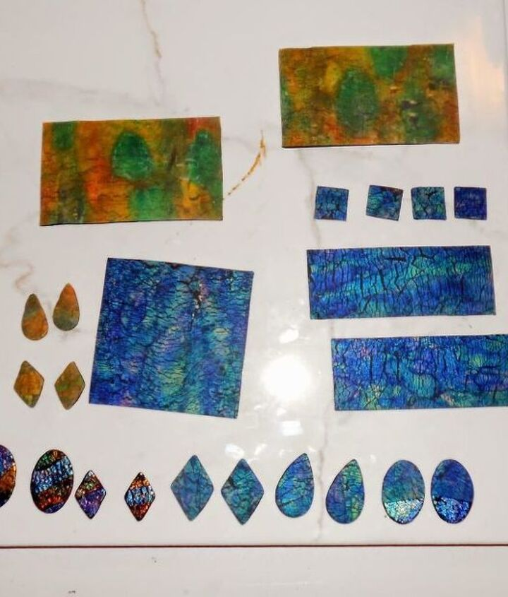 make your own tiles out of polymer clay