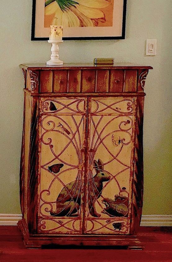q does anyone know anything about this charming wine cabinet