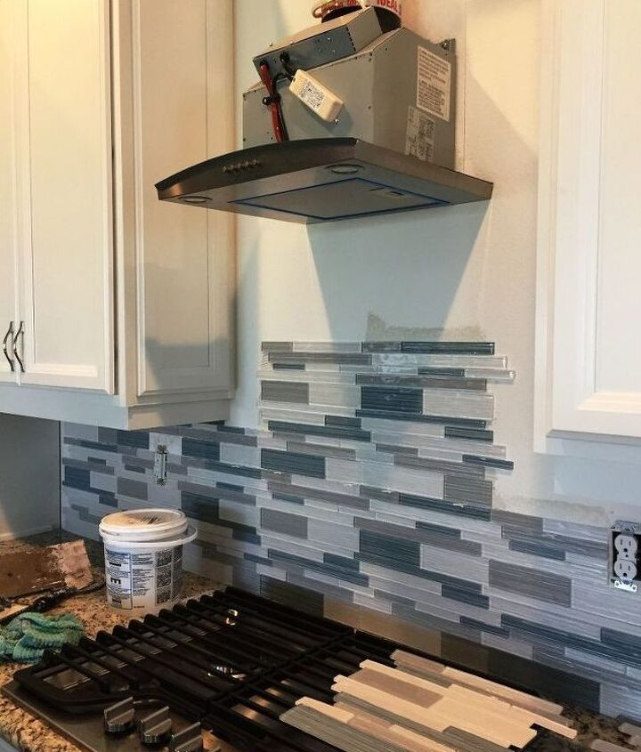 The main kitchen in progress