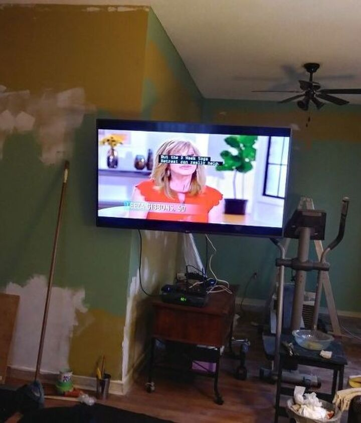 q what should i do to my tv walls