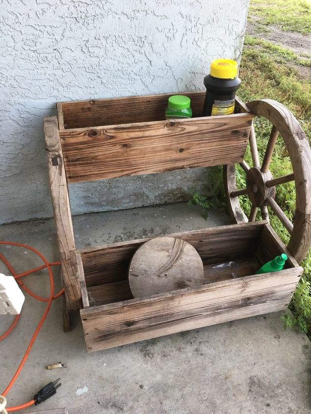 q want to get advice on making this a little herb garden