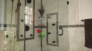 , And I used the last tile in a bathroom