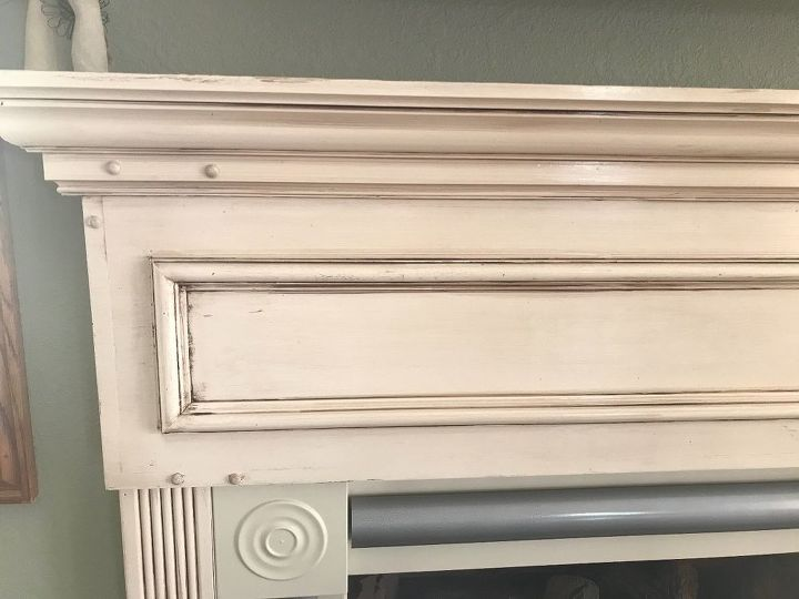 q how do i antique new painted wood